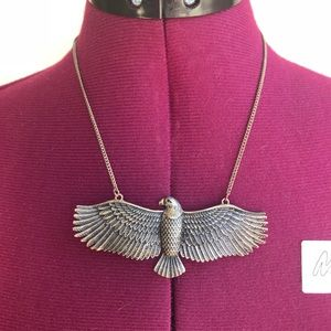 Silver Eagle Necklace gypsy style